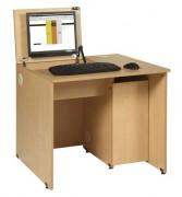 Table informatique scolaire mélaminé - Individuel