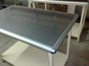 Table inox de tri courrier - Réalisable sur roulettes