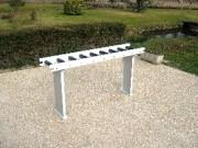 Table légère à rouleaux pour convoyeur - Table légère