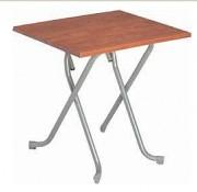 Table métal bar - Dimension (cm) : 80 x 80