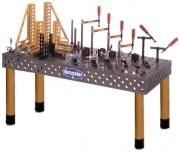 Table modulaire de soudure - Broche de pied filetée M30 x 2 robuste - réglable à ± 30 mm 3
