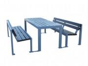 Table picnic - Composition: 2 bancs + 1 table
