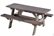 Table pique-nique 1800 x 1360 mm - Dimension totale (mm) : 1800 x 1360
