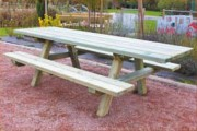 Table pique nique bois pour invalides