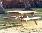 Table Pique-nique Chêne - Table Pique-nique en bois