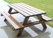 Table pique-nique pour extérieur