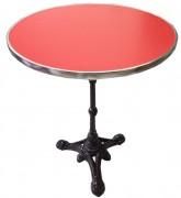 Table plateau rond pour café - Dimensions (diam)cm : 55 - 60