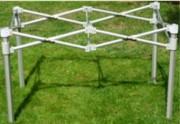 Table pliable modulable - Dimensions pliée : 18 x 26 x 75 cm