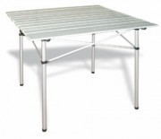 Table pliante aluminium pour stand - Dimensions (L x l x h) : 70 x 70 x 70 cm