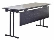 Table pliante avec barres de renfort - Dimensions (L x l) cm: 120 x 40 / 180 x 60