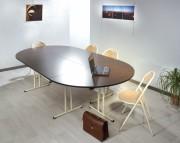 Table pliante collectivité demi-ronde - 2 modèles: Demi-ronde / 1/4 de ronde