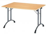 Table pliante en stratifié - Longueur: 1200 - 1600 - 1800 mm