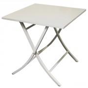 Table pliante jardin - Dimension (cm) :  75.5 x 75.5 x 76