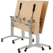 Table pliante rectangulaire 1200 x 800 mm - Dimensions(mm) : rectangulaire 1200 x 800 - ovale Ø 1600
