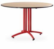 Table pliante ronde et demi-ronde - Dimensions (L x l) cm : De 80 x 80 à 210 x 80 - Diamètre : 60 - 120 cm