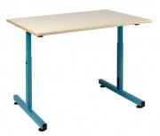 Table scolaire pour PMR Plateau fixe - Dimensions : 90 x 65 cm