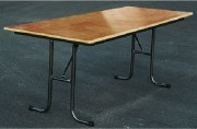 Table polyvalente 200 x 80 cm - Dimensions (L x l) : 200 x 80 cm