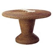 Table pour restaurant en bois diamètre 130 cm
