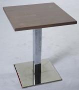 Table pour restaurant sur mesure - Dimensions du plateau (lxL) en cm : 50x50 - 60x60 - 70x70