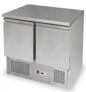 Table preparation à salade - Froid statique  2°C/ 10°C - Volume : 257 litres