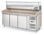 Table préparation pizza - Puissance : 170 + 170 W - 230 V mono