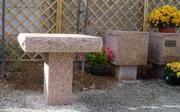 Table présentation urnes - Table de recueillement