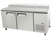 Table réfrigérée à 2 portes - Température : De + 1 / 8 °C - Capacité (L) : 570
