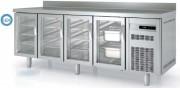 Table réfrigérée avec porte vitrée - Capacité : de 265  à  820L