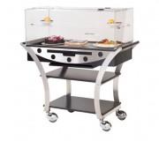 Table réfrigérée de service - Dimensions : L 1130 x l 525 x H 1220 mm