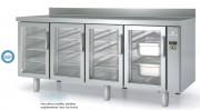 Table réfrigérée en acier - Capacité : de 75 à 171 L