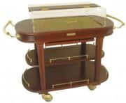 Table réfrigérée en bois - Dimensions (L x l x H) : 1200 x 560 x 990 mm
