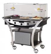 Table réfrigérée par compresseur  - Dimensions (L x P x H) 1130 x 525 x 1220 mm