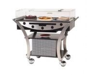 Table réfrigérée par compresseur - Dimensions : L 1130 x l 525 x H 1020 mm