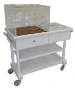 Table réfrigérée pour restaurant  - 4 pots eutectiques froids -