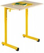 Table scolaire réglable monoplace - Table 70x50 cm réglable en hauteur