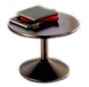 Table ronde plateau médium laqué - ARCADE