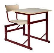 Table scolaire à siège attenant - Disponible en tailles 4 à 6