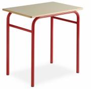 Table scolaire basique - Dimensions (L x l) cm : 70 x 50 ou 130 x 50