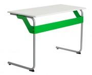 Table scolaire démontable - A dégagement latéral