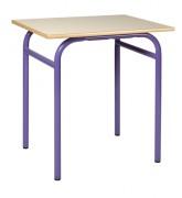 Table scolaire fixe monobloc