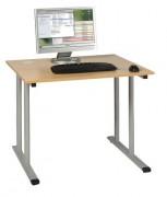 Table scolaire informatique individuelle - 900x900