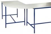 Table scolaire plateau de jonction - Angle 90°