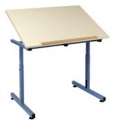 Table scolaire pour personne à mobilité réduite