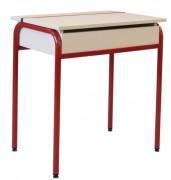 Table scolaire pupitre - Structure monobloc