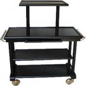 Table se service en bois 3 plateaux - Dimensions (L x P x H) 825 x 525 x 850 mm