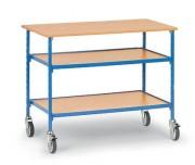 Table servante sur roues pivotantes charge 150 kg - Charge (Kg) : 150