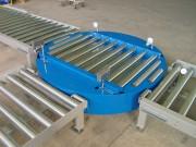 Table tournante a rouleaux motorisés - TTRM