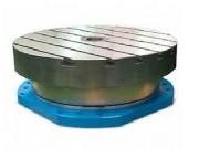 Table tournante acier - En bois aggloméré, en inox ou en PEHD - Capacité : 1500 Kg/m