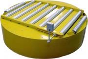 Table tournante avec convoyeur bi-chaînes - Type: TTB