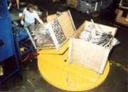 Table tournante pneumatique - Mise en place rapide en moins de deux heures